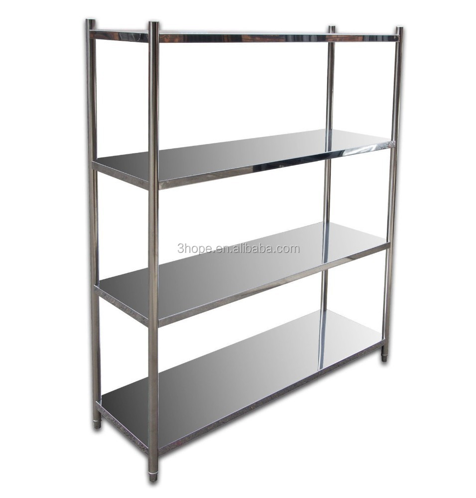 Used Stainless Steel Shelving Restaurant Kitchen Stainless Steel