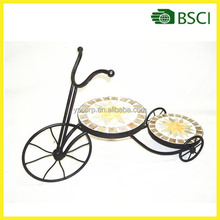 Metal Bicycle Potted Plant Stand Floor Flower Pot Rack Iran Plant Stands