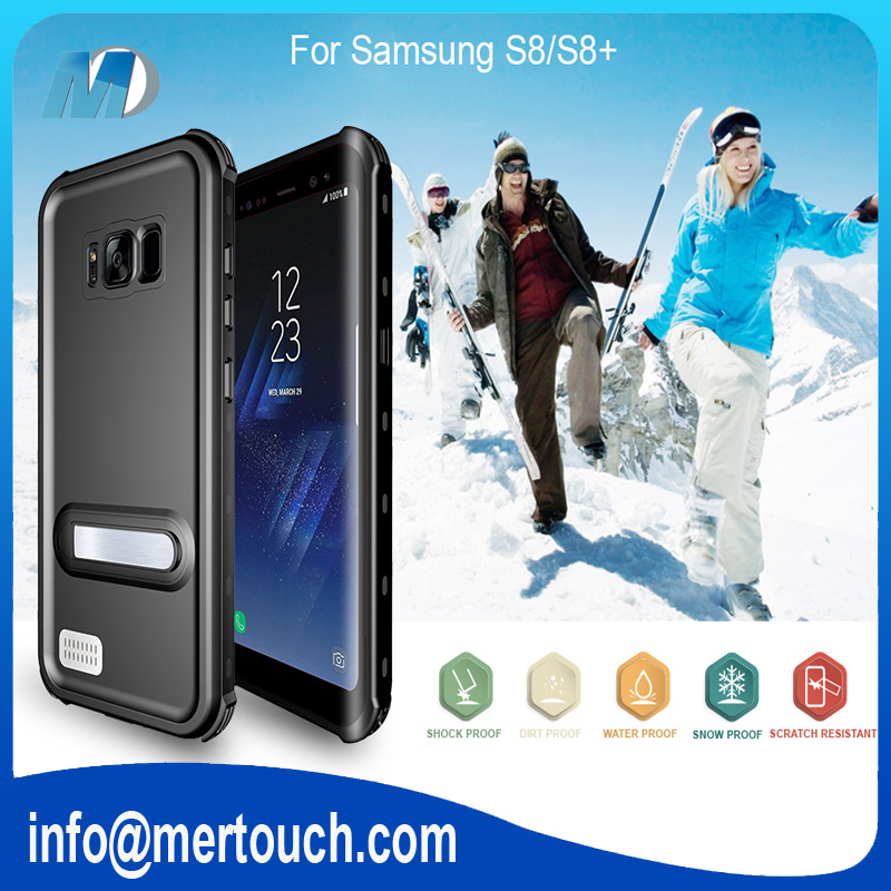 For Samsung galaxy S8 waterproof case shockproof soft TPU phone case with IP68 technology mobile phone cover
