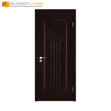 Design customize solid core flush small exterior door interior teak wood main door designs photo