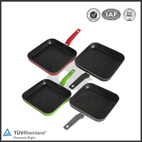 Healthy cast iron fry pan skillet nonstick cookware set
