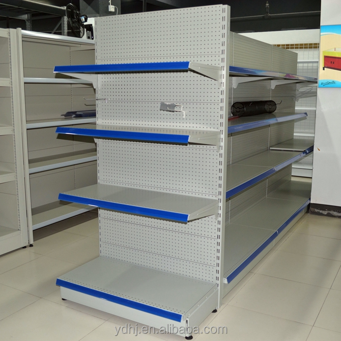 grocery shelves for sale/Top quality metallic supermarket shelf