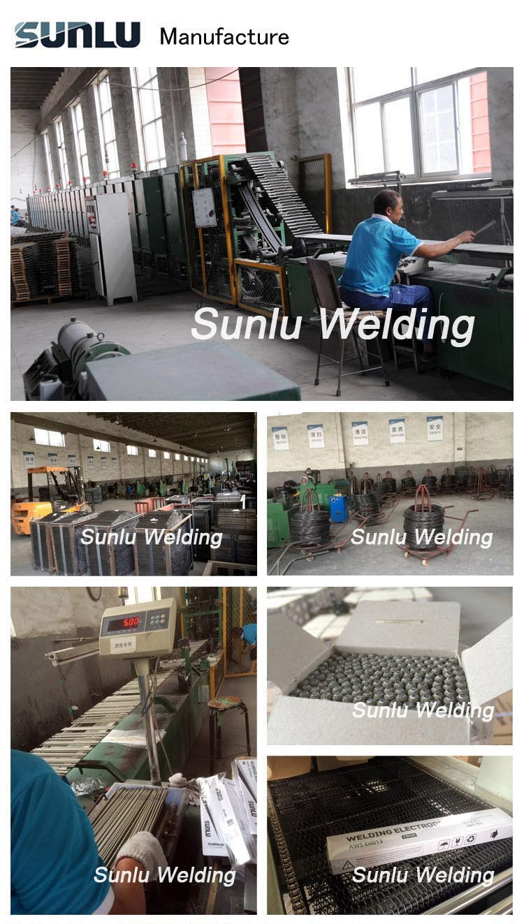 China supply welding rod welding electrode in hot sale sunlu brand