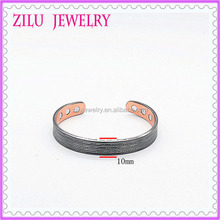 Fashion Jewelry Wholesale Copper Magnetic Bracelets for Men Good Price 10mm