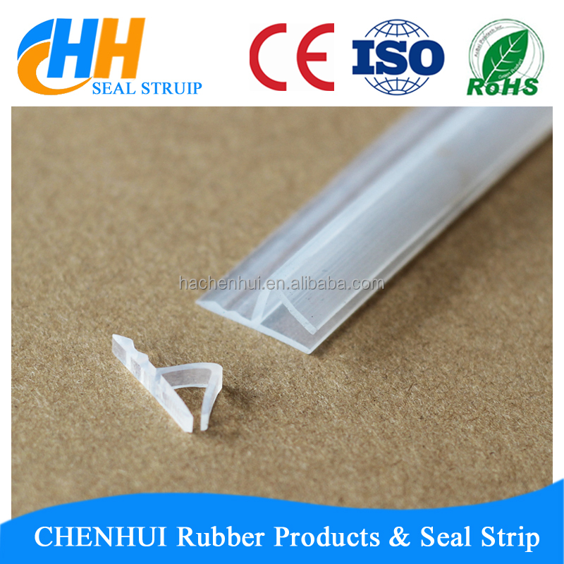 customized pvc edge banding/rubber sealing strips/glass edging protection