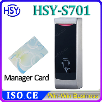 2016 design metal shell RFID Wiegand 26 input new single door controller