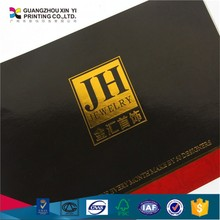 perfect bound overseas catalog book printing with hot foil