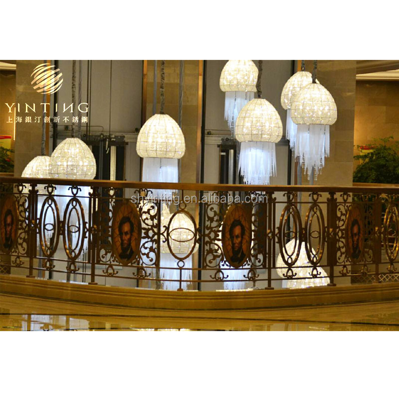 Home Decoration Railing for Stairs Iron Balustrade /Handrail