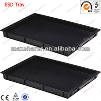 ESD Conductive Tray For Electronic Components A0802