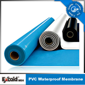 China, ASTM standard D-4434/4434D 1.5mmx2.05mx20m PVC roofing membrane