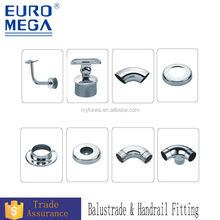 Guangdong Stainless steel balustrade and handrail fitting accessories for glass door