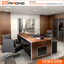 High End Modern Executive Office Table Design / Solid Surface CEO Executive Desk