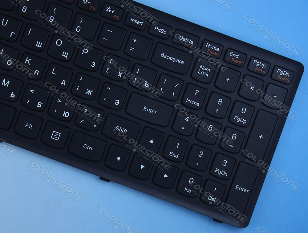 High quality laptop keyboard for G500S RU BLACK 9z.NAFSC.OOR