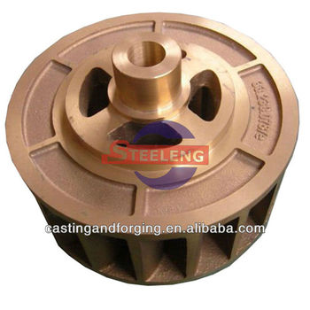 casting brass impeller