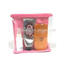 Cheap Promotional Clear PVC EVA Travel Cosmetic Bags OEM Wholesale