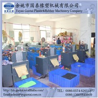 New Product Colourful Plastic Rubber Band Making Line