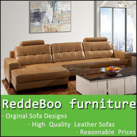 2015 newest leather furniture modern designer sofa , indian sofa set indian wooden sofa design