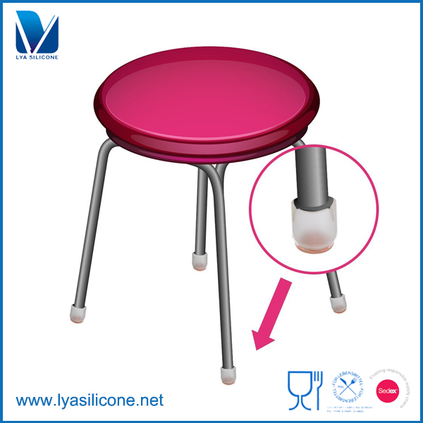 China Manufacturer Silicone Chair Leg Caps Waterproof Floor Protector