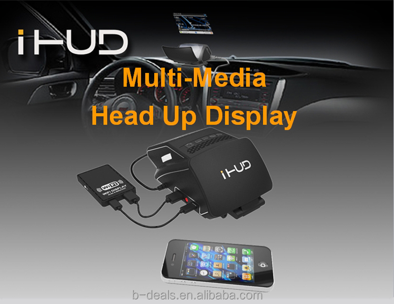 Spingteq Car Navigation Head Up Display Vehicle Speed Fuel