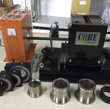 eddy current testing and ultrasonic flaw detector testing system for metal tubes and bars
