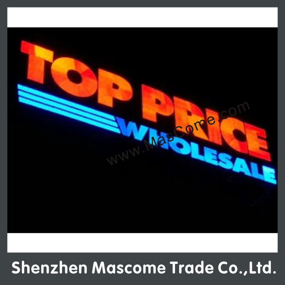 big led channel letter sign for company logo factory made