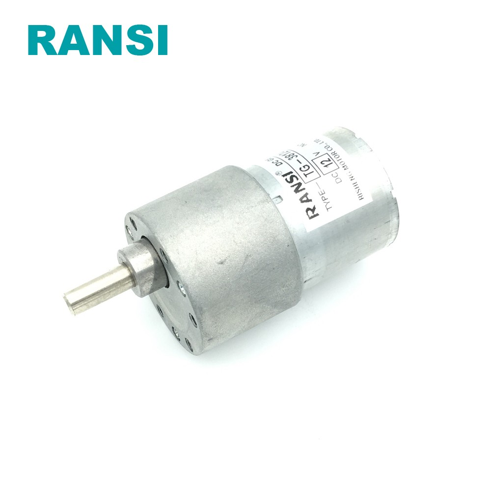37mm 12v 24v low rpm high quality micro dc gear motor