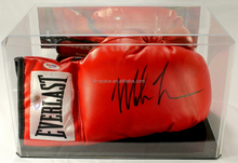 Acrylic Everlast Boxing Glove with Display Case box