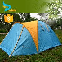 New Style Double Layer Folding Portable Sleeping Queen Outdoor Camping Adult Bed Tent