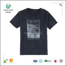 100% Cotton Fabric Men's Clothing Cheap Custom T Shirt