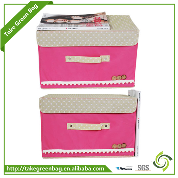 Good quality customized printing foldable storage box