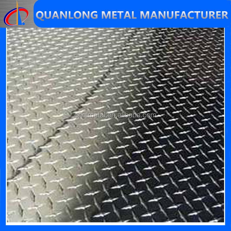 Tear Drop Hot Dipped Galvanized Steel Checkered Plate