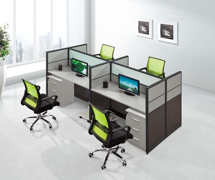 aluminium panel office workstation decoration wooden