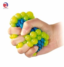 Mesh Squish Ball Stress Reliever Grape Ball Funny Tricky Toy Relieve Tension, Anxiety, ADHD Office Use Fun for Kids and Adults