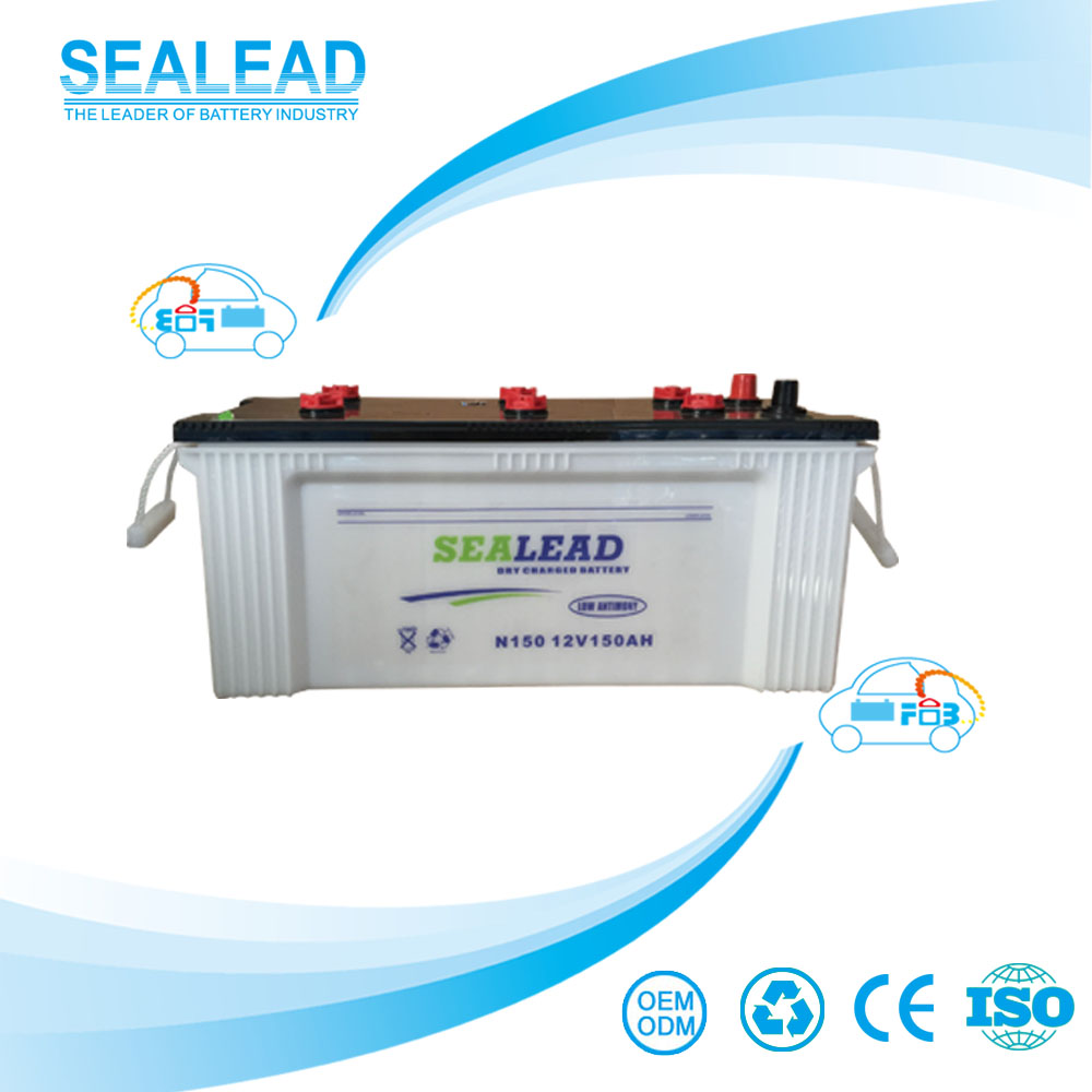 2016 new arrival 150AH 12V car battery prices for energy power system
