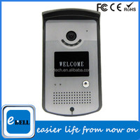 Voice Recording Wifi Door Bell with Wide Degree Angle Lens
