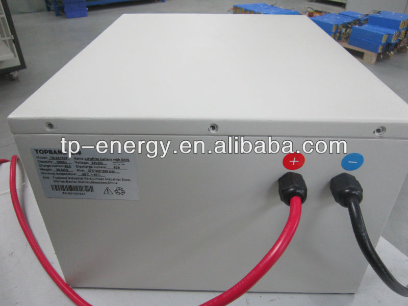 prismatic lithium ion batteries 24v 100ah