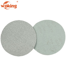 White Coated Aluninum Oxide Abrasive Sanding Disc Dry Polishing Pad