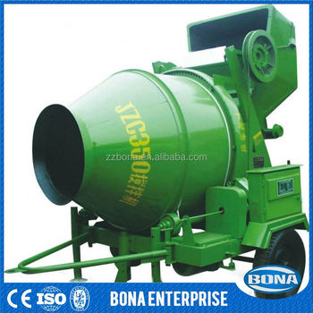 Hydraulic 12 Cubic Meters Concrete Pan Mixer