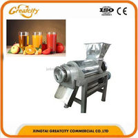 Double Channel Stone Fruit Beating Machine/Fruit Juice Extractor/Industrial Juice Extractor Machine