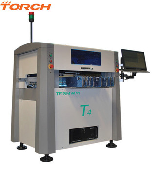 High speed high accuracy 4 heads fully automatic SMT pick and place machine