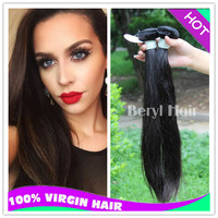 Wholesale top quality 24inch peruvian virgin chinese kinky straight hair