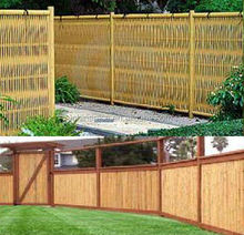 waterproof synthetic bamboo fence for garden
