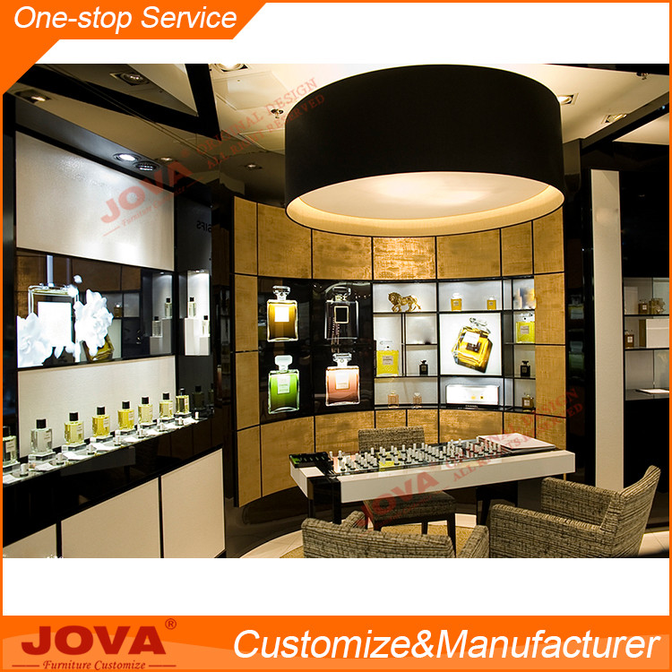 High end luxury perfume store interior design for shop decoration