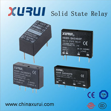 5V 12V 24VDC miniature relay / different types of single phase pcb solid state relay / 24v 2a single phase pcb ssr relay