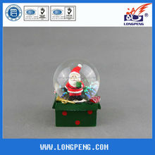 Resin Christmas Santa Snow Ball,Snow Globe,Water Globe