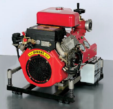 CE certified Diesel engine driven fire fighting pump