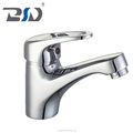 Single handle brass basin mixer home wash basin faucet modern design brass basin mixer