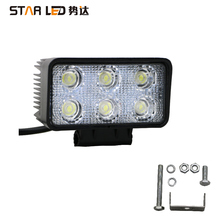 Truck accessories square super bright led working light motorcycle driving light 24 volt 12V