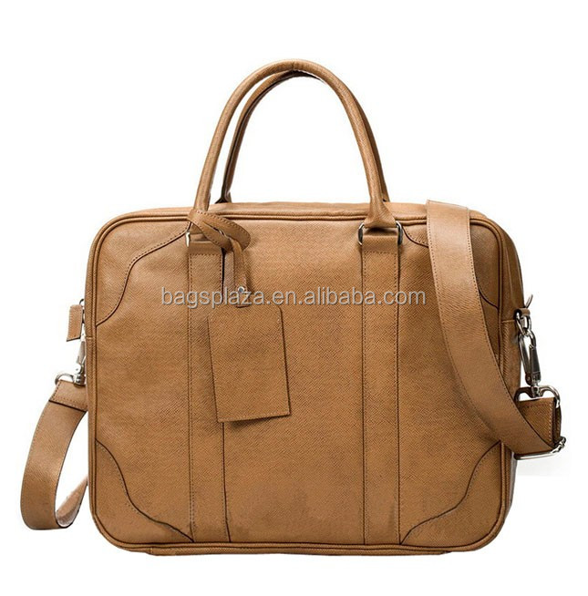 M3080 hot sale top design genuine leather men bag men briefcase with strap hot bag