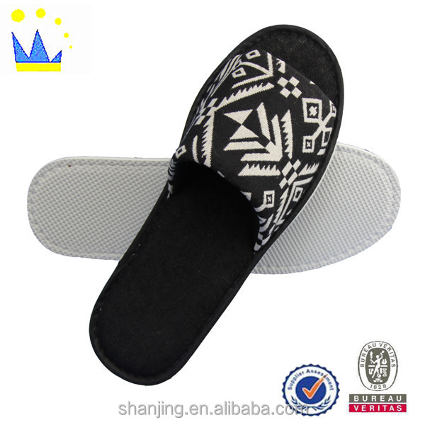 fashion rubber printing men indoor slippers